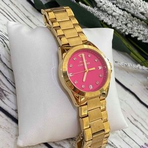 Juicy Couture Women's 1901108 Stella Hot Pink Dial